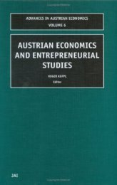Gains from Trade between Austrian Economics and Entrepreneurial