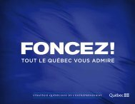 Stratégie québécoise de l'entrepreneuriat - mdeie - Gouvernement ...