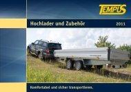 Hochlader und Zubehör - Tempus - Technology & Service