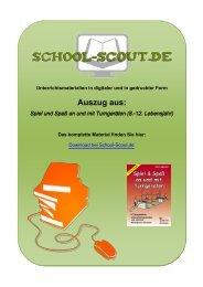 Spiel und Spaß an und mit Turngeräten (8.-12 ... - School-Scout