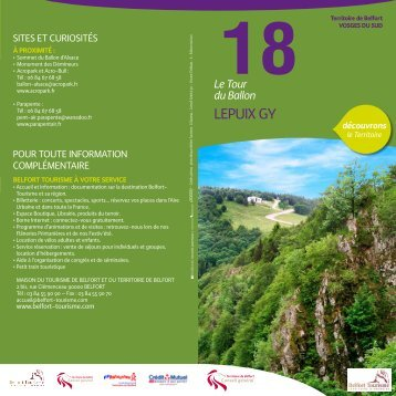 18. Le Tour du Ballon (Lepuix-gy) - Territoire de Belfort
