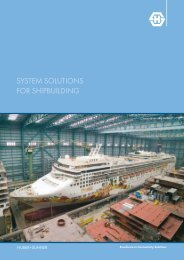 SYSTEM SOLUTIONS FOR SHIPBUILDING - Composites