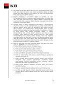 Podmínky k Extra kontu - Komerční banka - Page 2