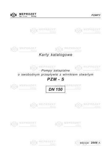 PZM - S DN 150 - MEPROZET Sp. z oo