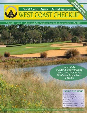 WEST COAST CHECKUP - West Coast Dental Association