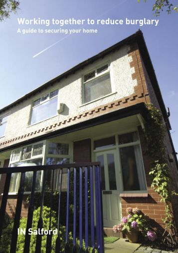 A guide to securing your home - Salford City Council