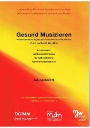 Beethovens Erbe - Überlegungen zur Hörminderung bei Musikern