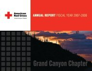 Grand Canyon Chapter - American Red Cross