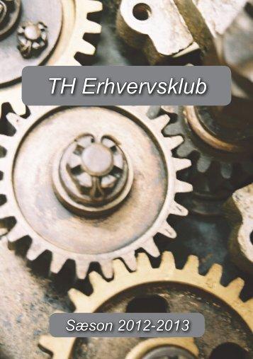 folder om TH Erhvervsklub - TFGF - Tarm-Foersum GF