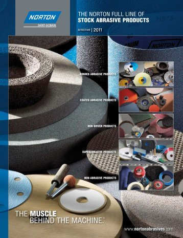 Norton Industrial Catalog 7362 2011.indd