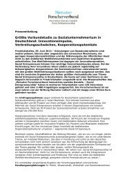Presseinfo Juni 2012 - Stiftung Mercator