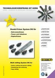 MDG - Hartmetall-Werkzeugfabrik Paul Horn GmbH