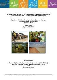 Food Security Support Initiative - Partners voor Water