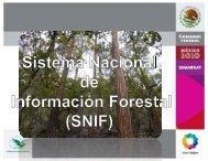 Sistema Nacional de Información Forestal (SNIF - SEIF)