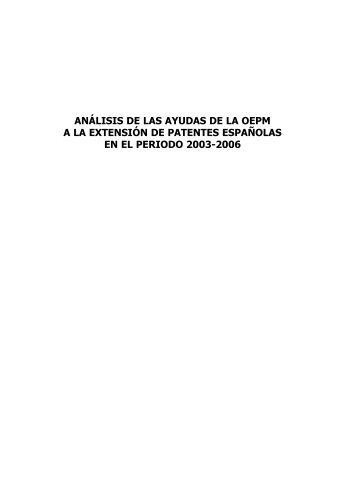 Cap tulo 3 la carrera p for Oficina de patentes y marcas europea