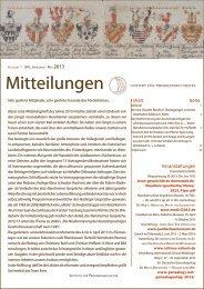 Mitteilungen 2013-1 - Institut für Personengeschichte