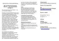 flyer Bewheimatet - Playing-Arts