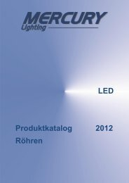 LED Produktkatalog 2012 Röhren - Photolight