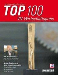 Vn-Wirtschaftspreis: Top 100 - Vorarlberg Online