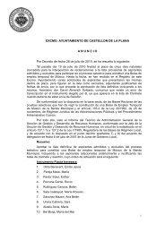 ANUNCIO LISTA DEFINITIVA musico - Ayuntamiento de Castellón