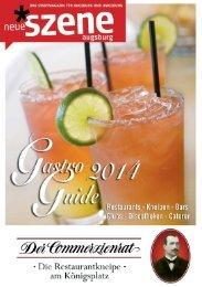 Gastro Guide Augsburg 2014