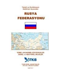 Rusya Ülke Raporu Şubat 2011 - İstanbul Tekstil ve Konfeksiyon ...