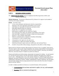 • • Parental Involvement Plan 2012-2013 - Homewood City Schools