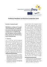 Newsletter 14 - European University Viadrina Frankfurt (Oder)