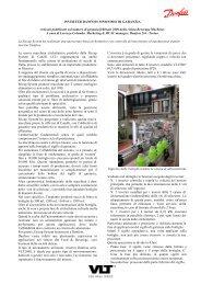 INVERTER DANFOSS SINONIMO DI GARANZIA Articolo pubblicato ...