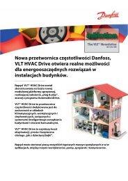 Nowa przetwornica częstotliwości Danfoss, VLT HVAC Drive otwiera ...