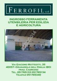 Catalogo Ferrofil 25/02/2014