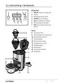 Gebrauchsanleitung Kaffeemaschine CM2062ST - Baur - Seite 3