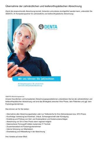 Zahnärztliche Abrechnung Für Anfänger : mitarbeiter in f r zahn rztliche abrechnung gesucht ~ Themetempest.com Abrechnung