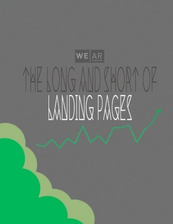 The Long and Short of Landing Pages