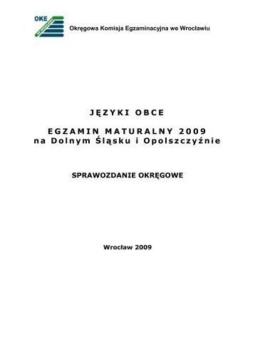 Języki obce - Okręgowa Komisja Egzaminacyjna