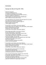 Solexlied tekst - Van der Heem & Bloemsma