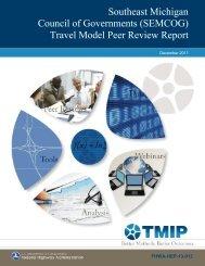 (TMIP): SEMCOG Peer Review Report