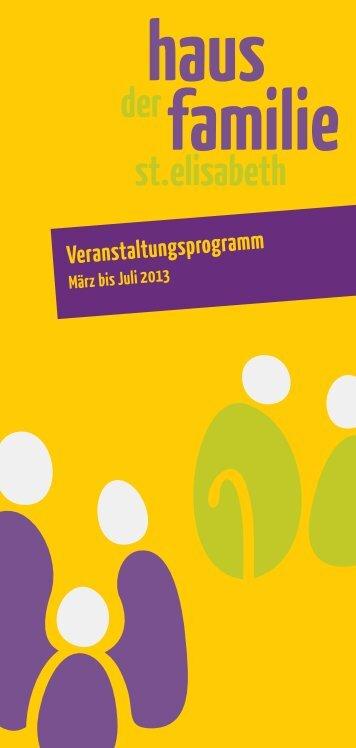 Programm Haus der Familie - Katholisches Kreisbildungswerk ...