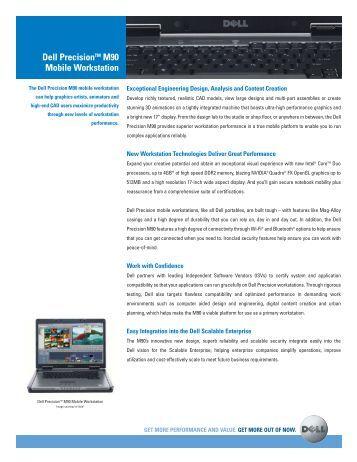 Dell M90 Manual