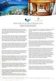 MANAVA SUITE RESORT TAHITI - Bora Bora Resorts