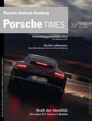 Kraft der Identität. Porsche Zentrum Bamberg