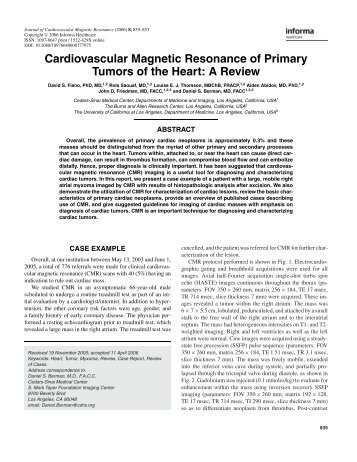 download here - Society of Cardiovascular Magnetic Resonance