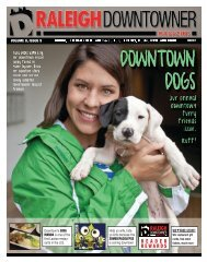 Downtown Dogs - Raleigh Downtowner