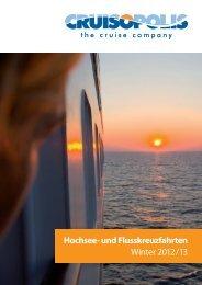 Hochsee- und Flusskreuzfahrten Winter 2012/13 - MengReklammen.lu