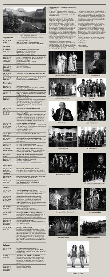 Theater-Programm - selb-live.de