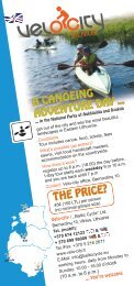 A CANOEING ADVENTURE DAY THE PRICE? - Baltic Cycle.