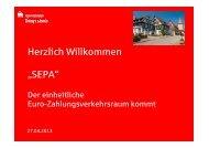 Präsentation zu unseren Vereins-veranstaltung - Sparkasse ...