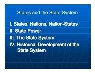 States and the State States and the State System ... - Rose-Hulman