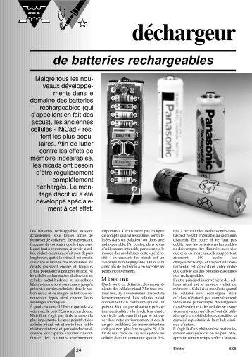 980050-F batterij-ontlader