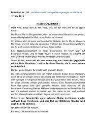 Rosenkranzwallfahrt I - Jochen-roemer.de